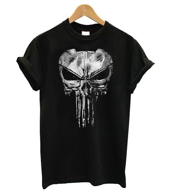 The Punisher New Skull Tshirt EL7N