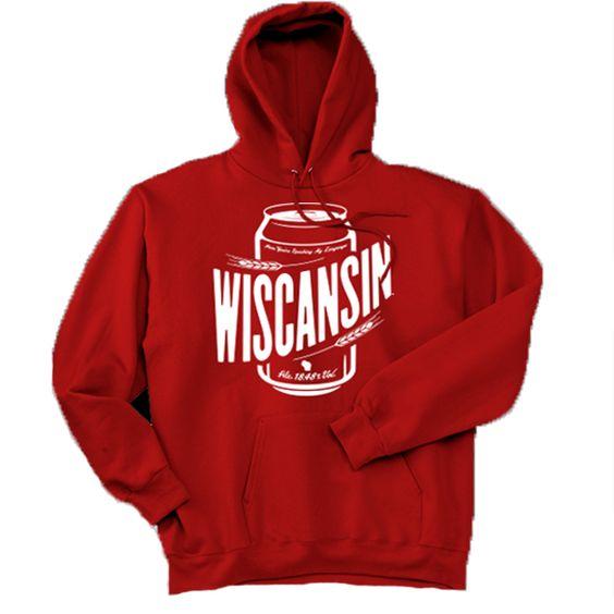 Wiscansin Cans Hoodie N26EM