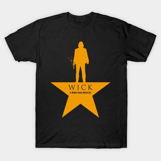 A Baba Yaga Musical T-Shirt AR24D