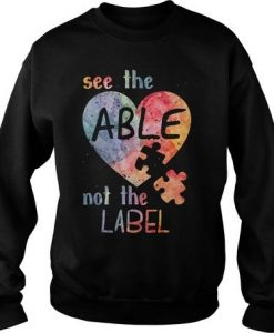 Autism See Able Sweatshirt VL2D