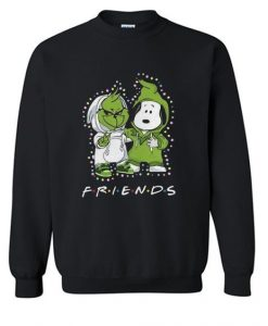 Baby Grinch And Snoopy Hoodie VL2D