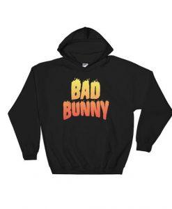 Bad Bunny Flame Hoodie VL2D
