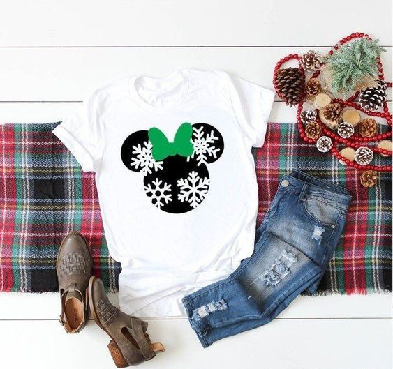 Chistmas disney T-Shirt RS9D