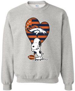 Denver Broncos Snoopy Sweatshirt VL2D