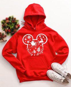 Disney Christmas Hoodie D7VL
