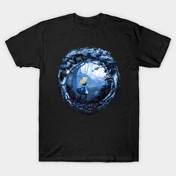 Follow The Rabbit T-Shirt VL26D