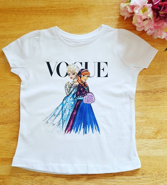 Girls frozen T-Shirt RS9D