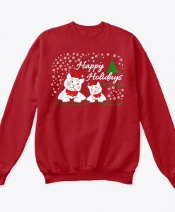 Happy Holidays Sweatshirt EM4D