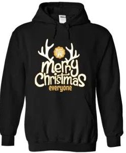 Merry Christmas Everyone Hoodie D7VL