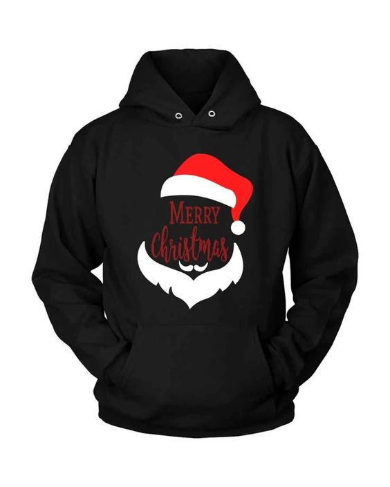 Merry Christmas Santa Hoodie D7VL