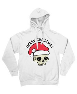 Merry Christmas Tattoo Hoodie D7VL