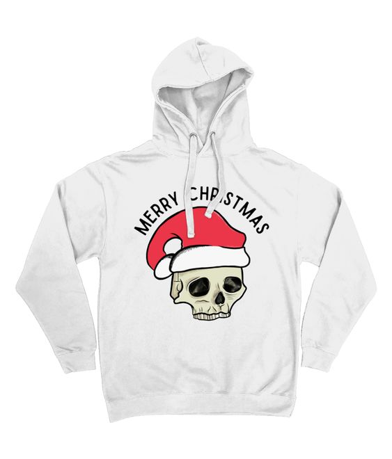 Merry Christmas Tattoo Hoodie D7VL