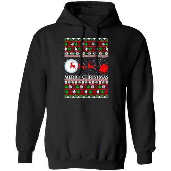 Santa Claus Christmas Hoodie D7VL