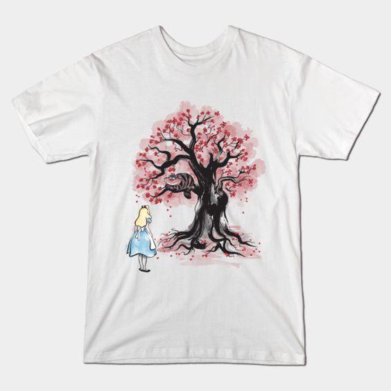 TREE SUMI-E T-Shirt VL26D