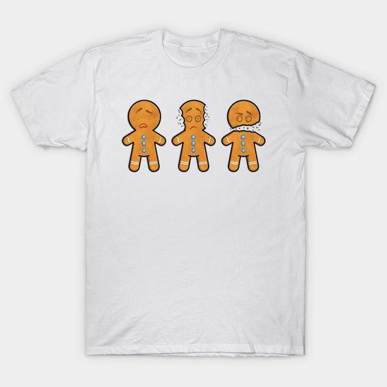 Three Wise Gingerbread T-shirt ER23D