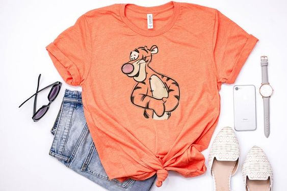 Tigger sketch T-Shirt RS9D