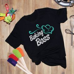 Baking Boss Tshirt LI9M0