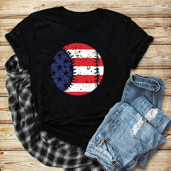 Ball American Flag Tshirt ZR26M0