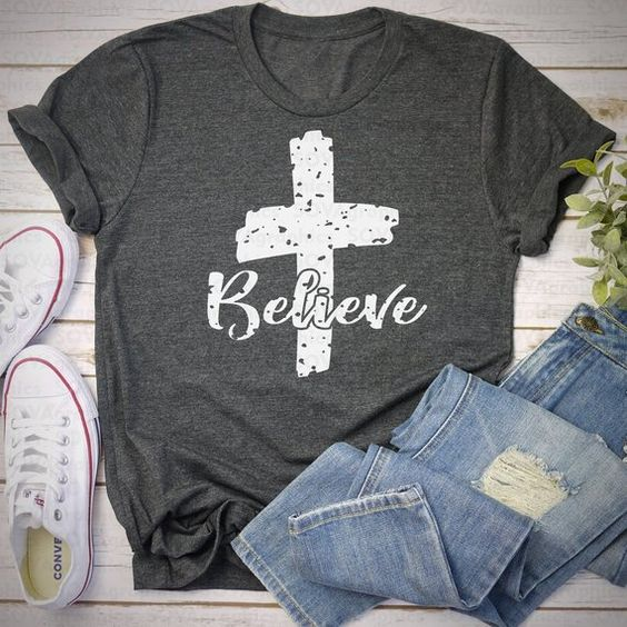 Cross Believe T-shirt YN6M0