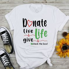 Donate Life Tshirt LI9M0