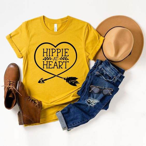 Hippie At Heart T-shirt YN6M0