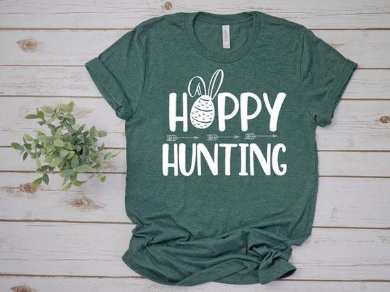 Hoppy Hunting Tshirt ZR26M0