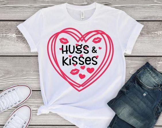 Hugs and Kisses tshirt ZR26M0