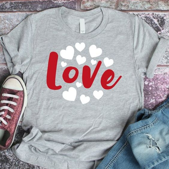 Love Heart Tshirt ZR26M0