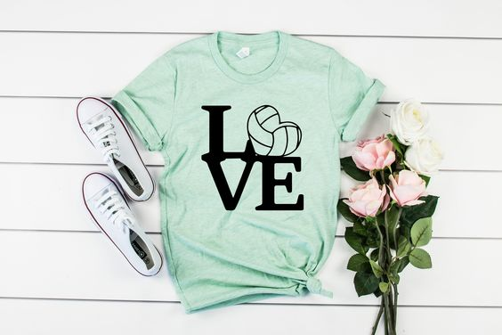 Love Volleyball shirt YN6M0