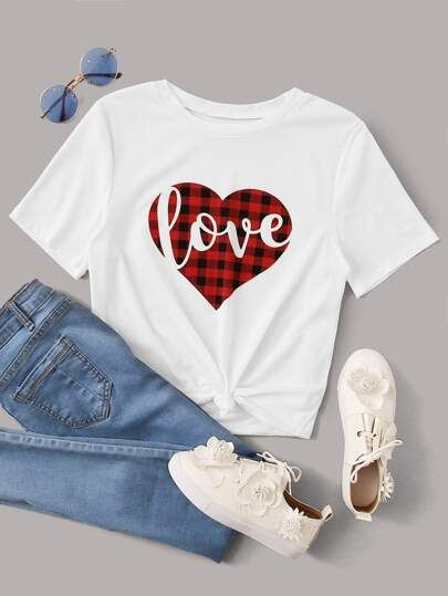 Love White T-shirt YN6M0