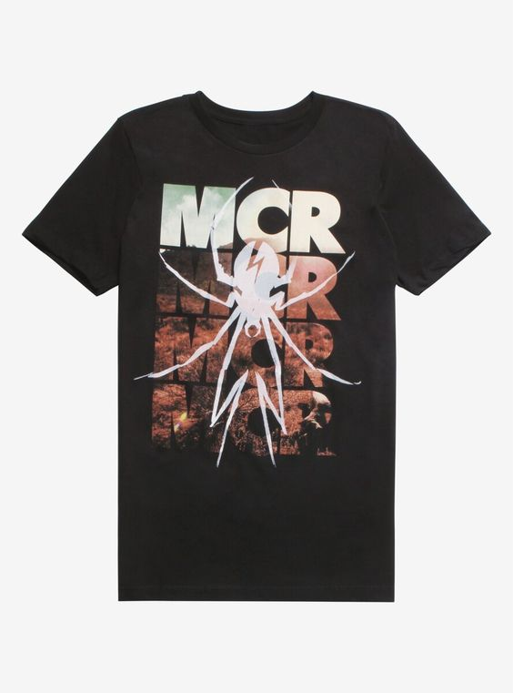 Spider MCR T Shirt LY27M0