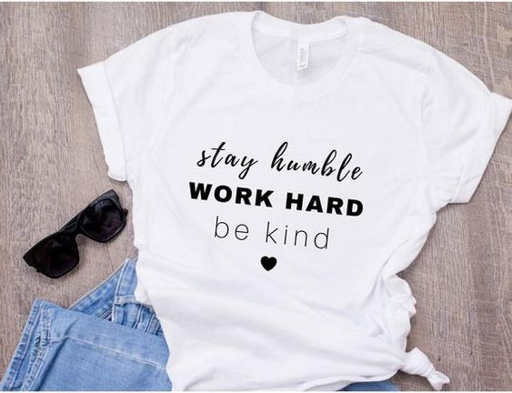 Stay Humble T-shirt YN6M0