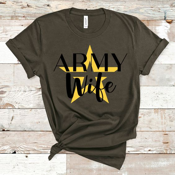 Army Wife T Shirt EP22A0