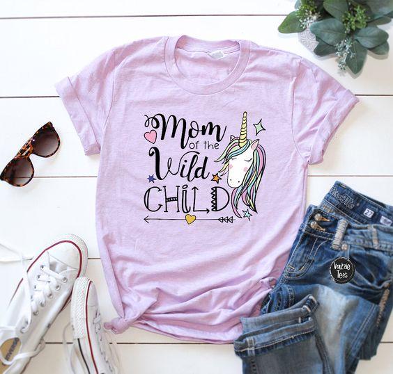 Unicorn Wild Child T Shirt EP22A0