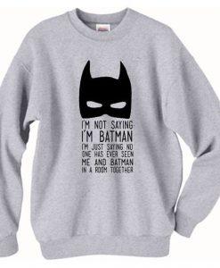 Batman Sweatshirt LI30JL0