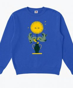 Buff Flower Sweatshirt LI30JL0