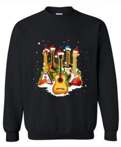 Guitar Wearing Sweatshirt LI30JL0