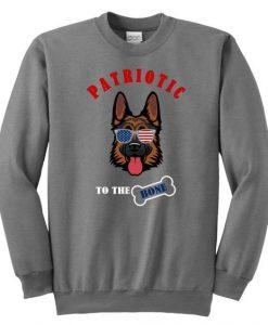 Patriotic To The Bone Sweatshirt LI30JL0
