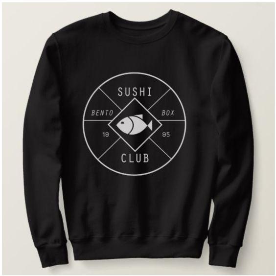 Sushi Bento Box Sweatshirt LI30JL0