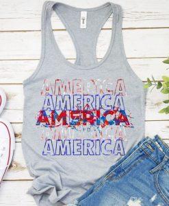 America Tanktop LE21AG0