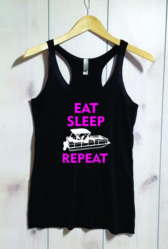 Eat Sleep Repeat Tanktop LE21AG0