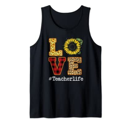 Love Sunflower Tanktop LE21AG0