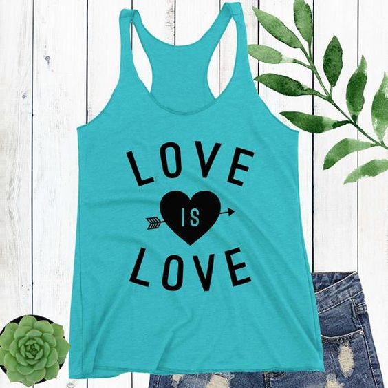 Love is Love Tank Top LE21AG0