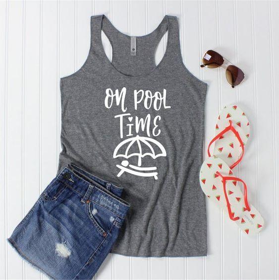 On Pool Time Tanktop LE21AG0