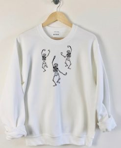 Dancing Skeleton Sweatshirt TY1S0
