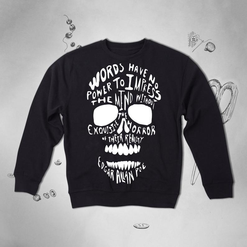 Skull sweatshirt TY1S0