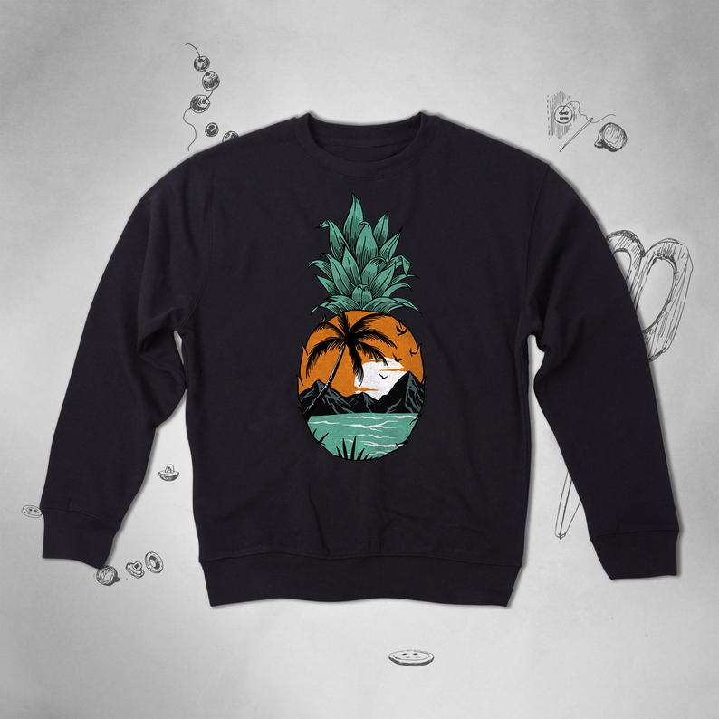 Tropical Pineapple Sweatshirt TY1S0