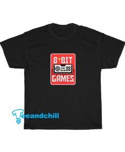 8 Bit Games Tshirt SR16D0