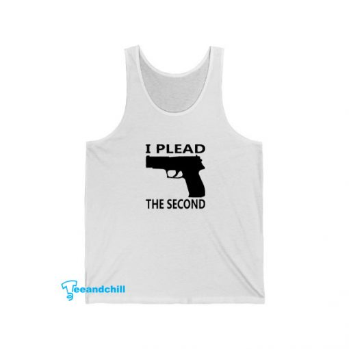 I Plead The Second Tank Top SA14JN1