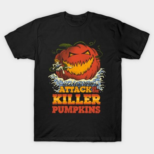 Attack of the Killer Pumpkin T-Shirt DA18F1